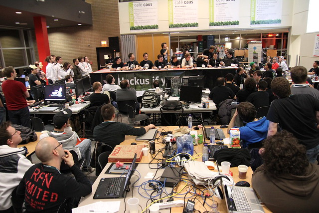 The growth of the Hacker community in Montreal