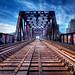 Train Bridge by roughtimes