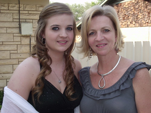 Taylor and her Mom at Prom by todd.freese