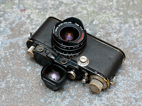 Voigtländer Super Wide Heliar Aspherical 4.5/15mm