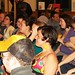 Happy audience members enjoy Tigerhead's performance