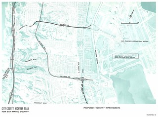 Proposed Highway Improvements (Millbrae, 1962)
