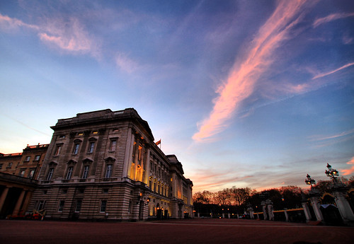 Buckingham Palace Sunset