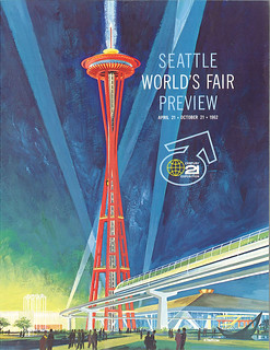 World's Fair preview magazine, 1962