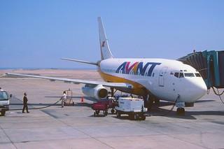 109ai - Avant Airlines Boeing 737-248; CC-CSL@IQQ;14.09.2000