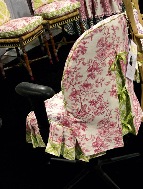 Jackie's Office Chair Slipcover Pattern