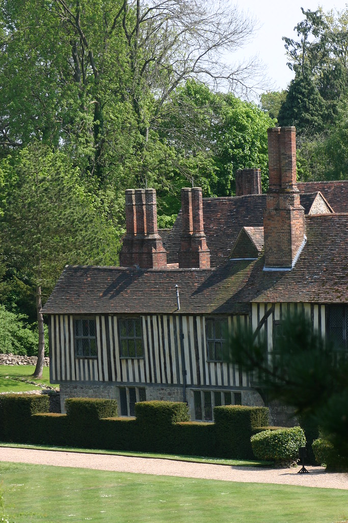 Ightham Mote Chimneys