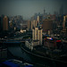 shanghai-2011-view-suzhou-river-pudong-skyline-dusk by Raphael Olivier
