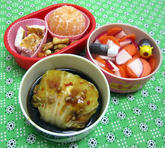 cabbage roll bento