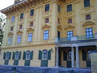 Front of Esterhazy Castle Eisenstadt