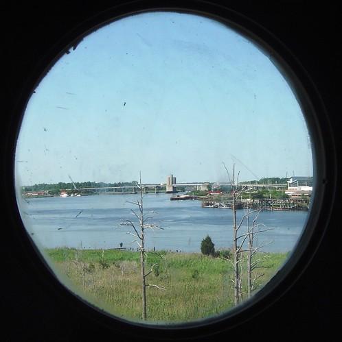 nc navy northcarolina porthole battleship wilmington ussnorthcarolina