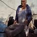 Amelia con su metate en La Mesita, al sur de Sahuaripa, Sonora, Mexico por Lon&Queta