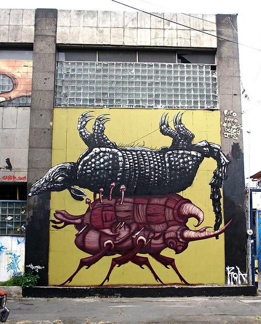 Sego & ROA-Mexico City