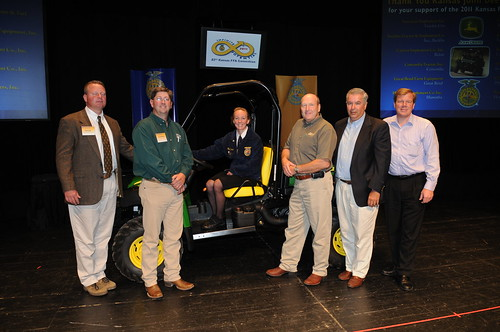 86th Kansas Ffa Convention News Ffa Member Wins John Deere Gator