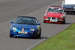 Castle Combe June 2011 MGs on Track