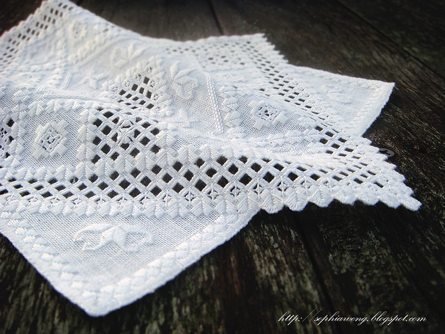 Hardanger Claire Doily