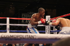 Erislandy Lara  vs. Carlos Molina at Fight Night at The Cosmopolitan of Las Vegas
