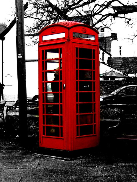 Cabine telephonique d 39 angleterre flickr photo sharing - Etagere cabine telephonique ...