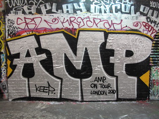AMP graffiti