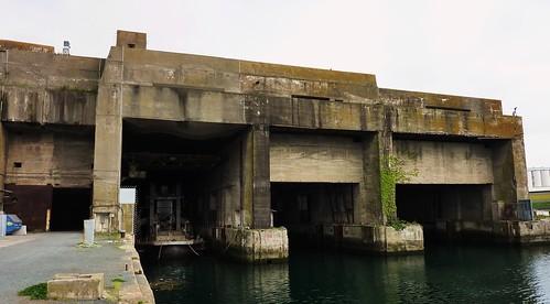 blockhaus, base sous marine la rochelle la pallice