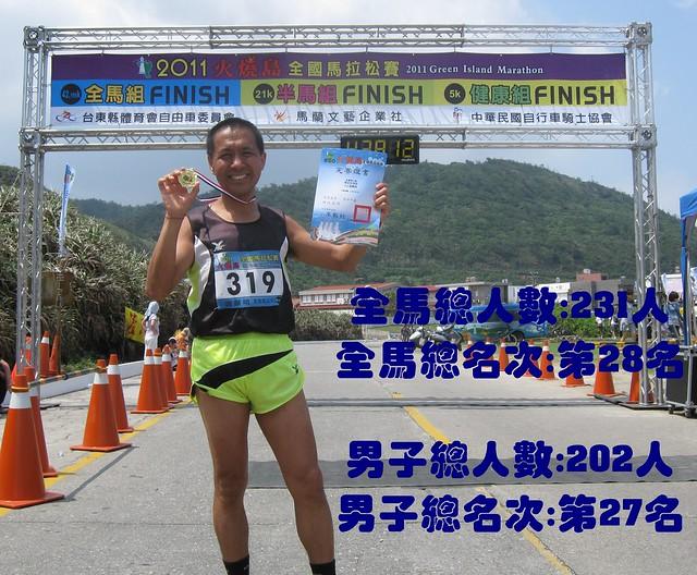 台东火烧岛[绿岛]马拉松2011