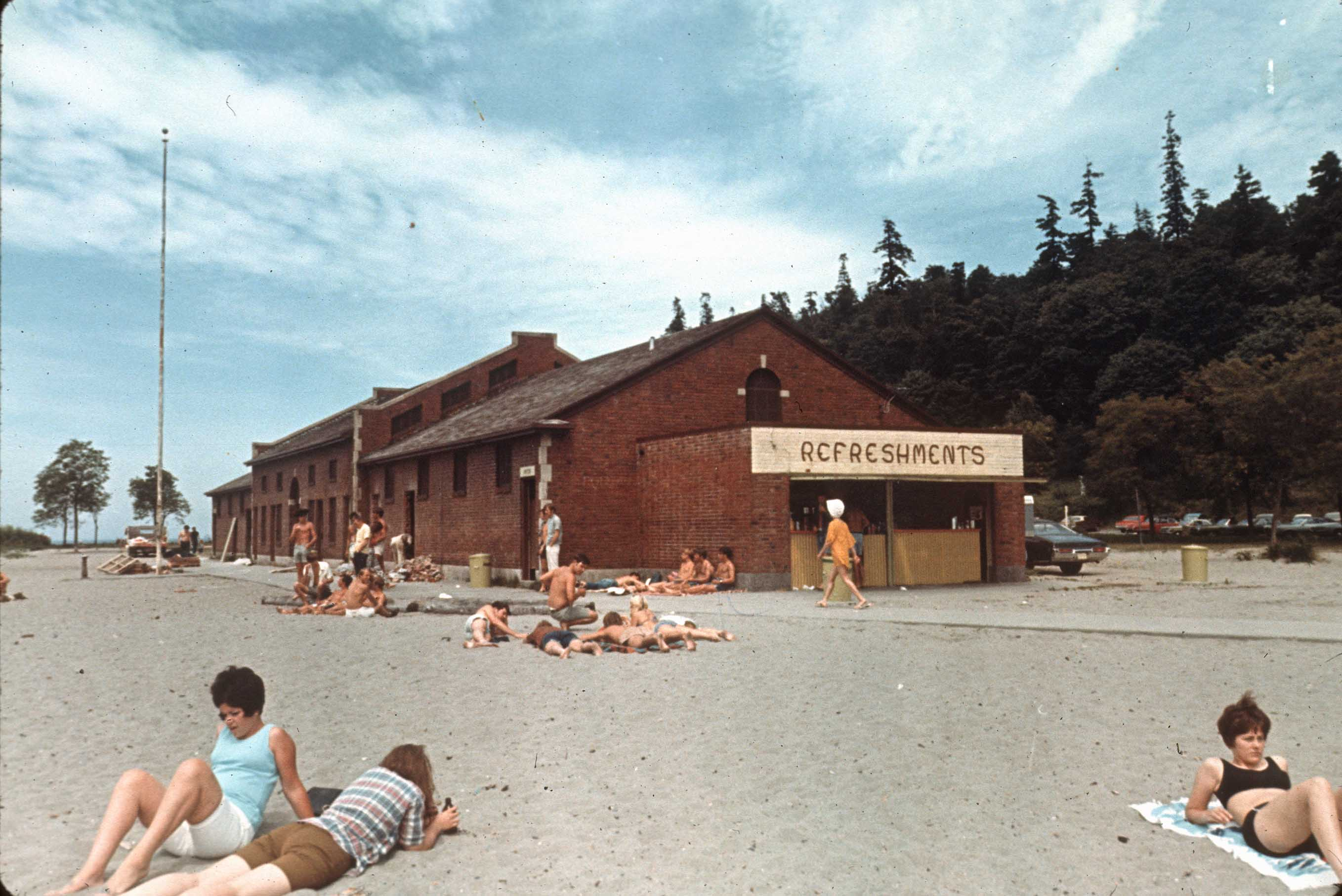 Sunbathers At Golden Gardens 1969 Flickr Photo Sharing