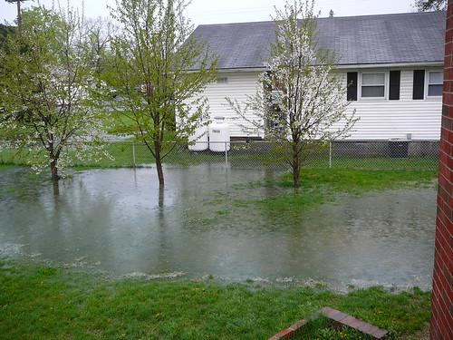 Natural disaster in the hampton roads area for Backyard flooding solutions