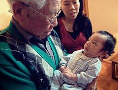 child, infant, people, male, man, senior citizen, grandparent, person, boy,