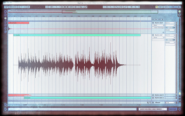 Audio recording screenshot