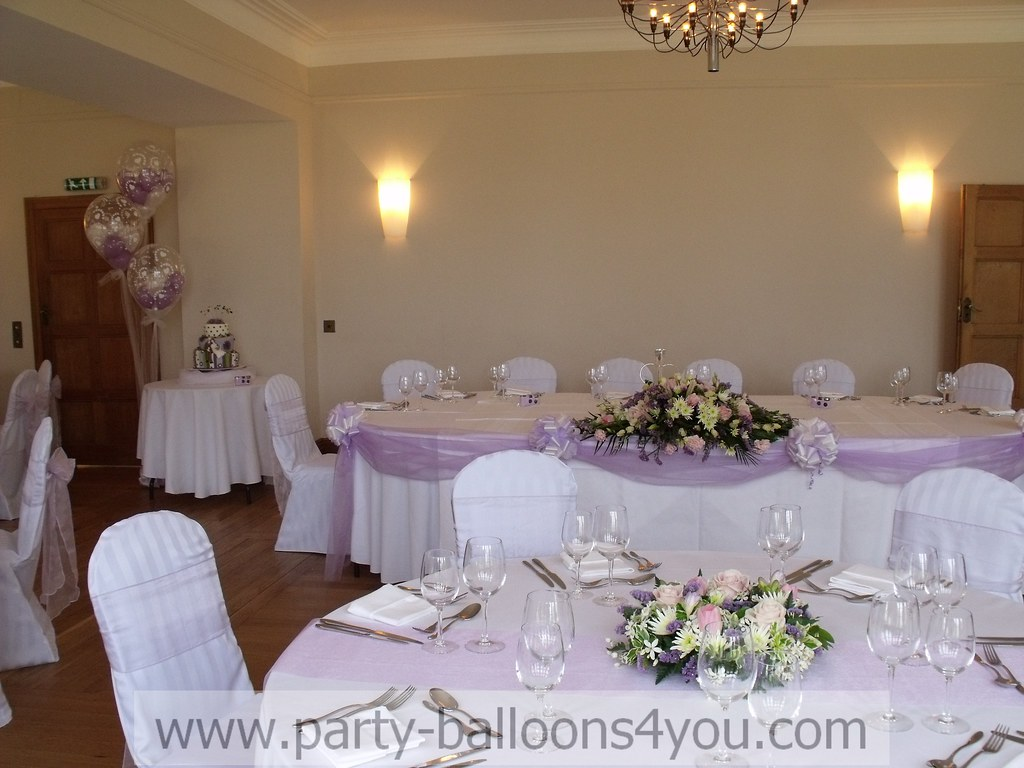 Wedding Venue Decorations Coombe Lodge Blagdon Www Party Flickr