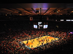 Knicks 2011 playoff game 4 (last playoff game)