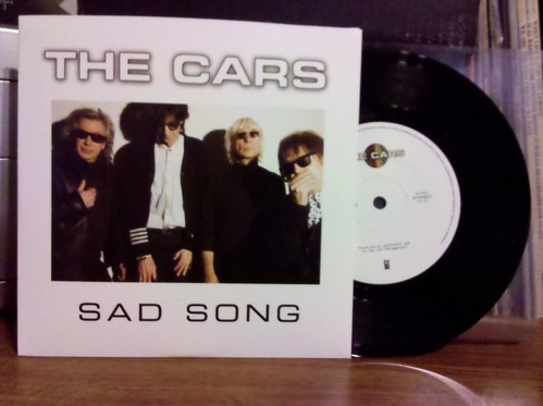 """Record Store Day Haul #6 - The Cars - Sad Song 7"""""""