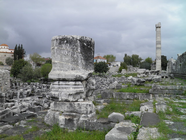 Ruins outside the north wall, Apollo Temple, Didyma