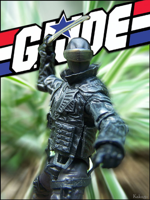 GI JOE Snake Eyes Cover Type