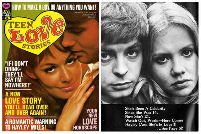 Teen Love Stories (Jan 1968) 1