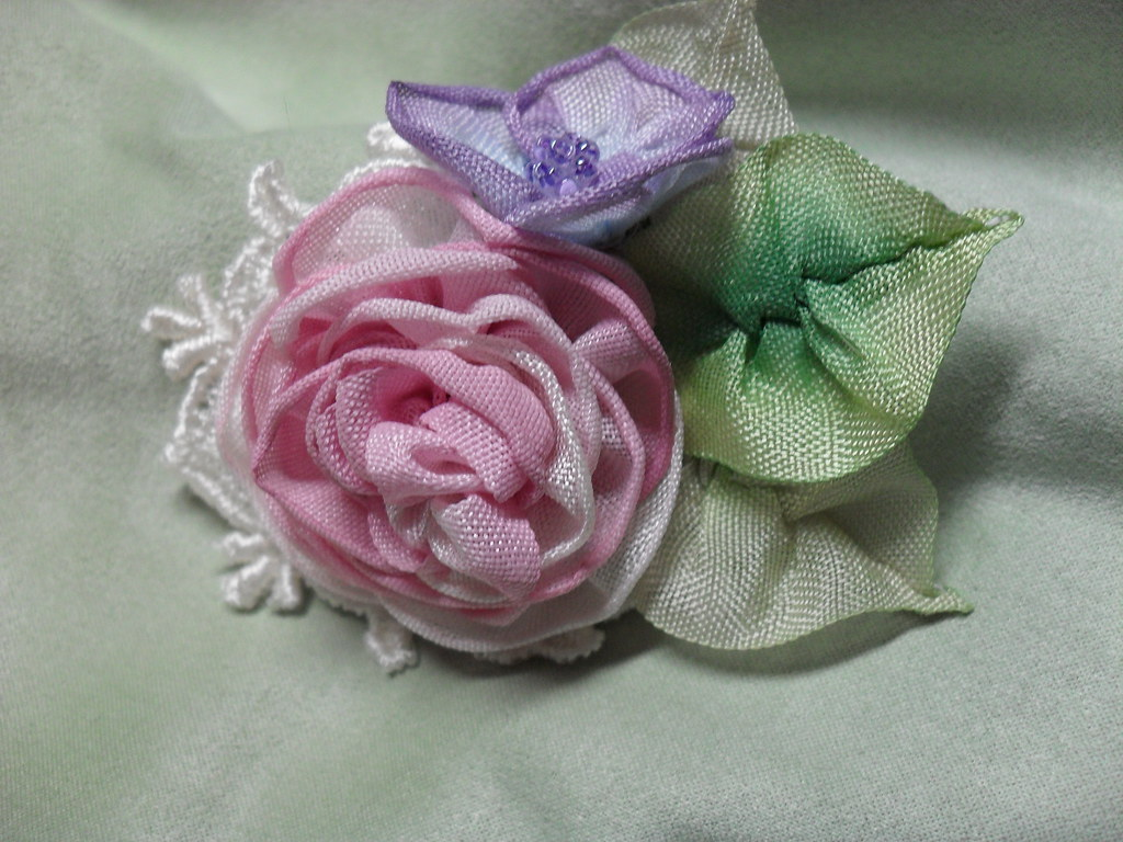 Silk millinery flowers millinery flowers ribbon rose pin millinery flowers ribbon art silk ribbon mightylinksfo