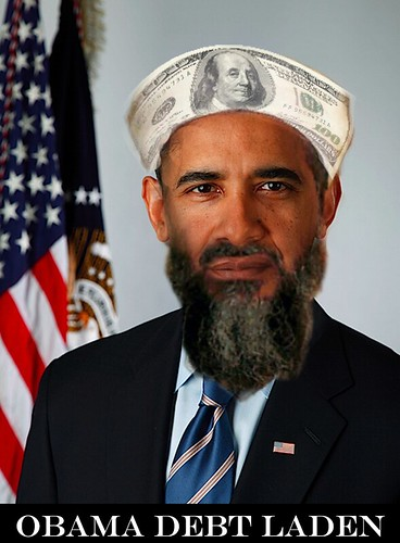 OBAMA DEBT LADEN by Colonel Flick