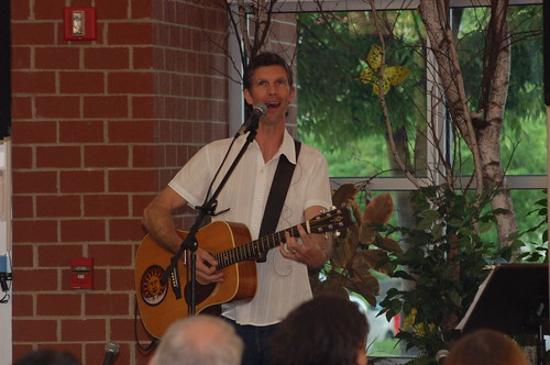 "Scott Blasey performs ""Live at the Library"""