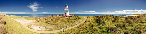 Waipapa Point Lighthouse, Catlins, Southeast New Zealand