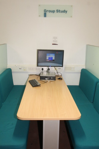 Frenchay library group study space