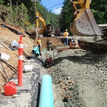 Shoulder Reconstruction, Widening And Storm Drain Installation