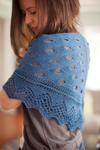 Wave or Particle Shawl