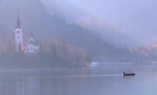 Lake Bled ~ Slovenia #dailyshoot #churches #lake