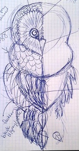 Owl Sketch #2
