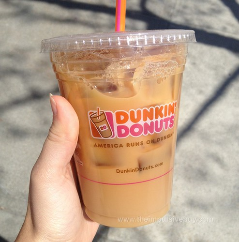 REVIEW: Dunkin' Donuts Cookie Dough Iced Coffee
