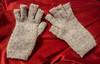 Grey gloves for J