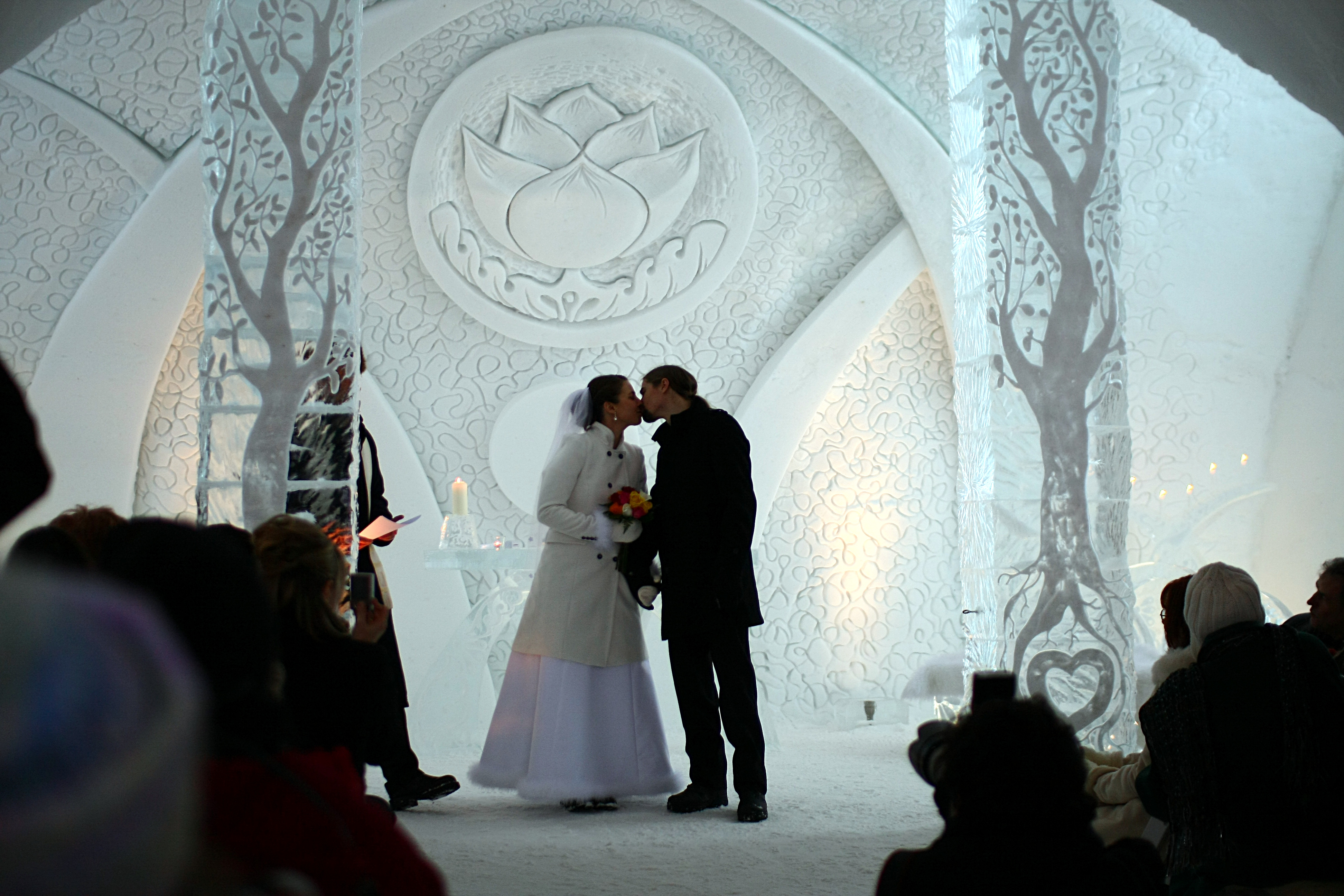 Astounding Ice Hotel In Quebec The First One In North
