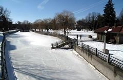 Ottawa Ontario Canada  March 2011 — Rideau Canal  87