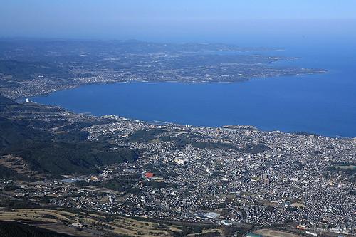japan landscape oita beppu tsurumi 大分 別府 鶴見岳