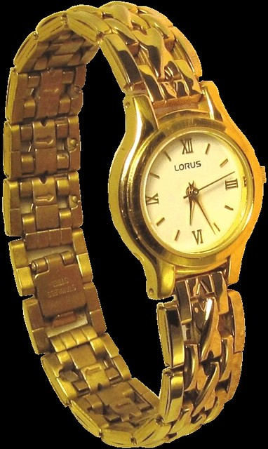 Gold wrist watch clip art lge 12cm | This clipart-style imag ...